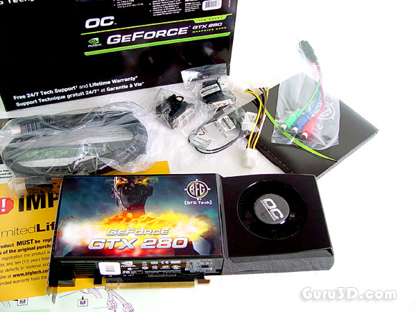 BFG GeForce GTX 280 OC edition