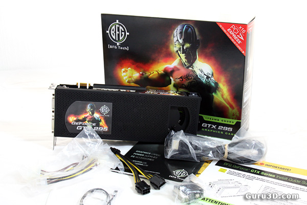 BFG GeForce GTX 295 review
