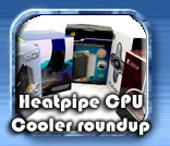 CPU Heatpipe coolers 2008