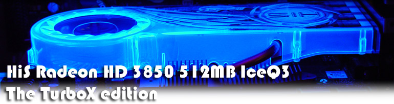HIS Radeon HD 3850 ICEQ3 XTurbo edition
