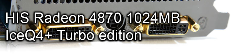 HIS Radeon HD 4870 1Gb ICEQ4+ Turbo