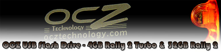 OCZ Rally Flash memory USB Sticks