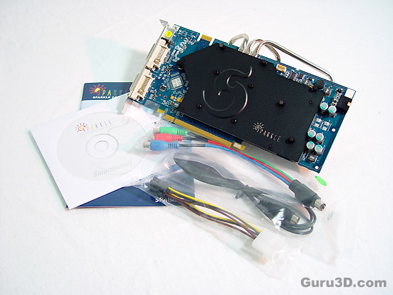 Sparkle GeForce 8800GT Cool-Pipe3 512MB