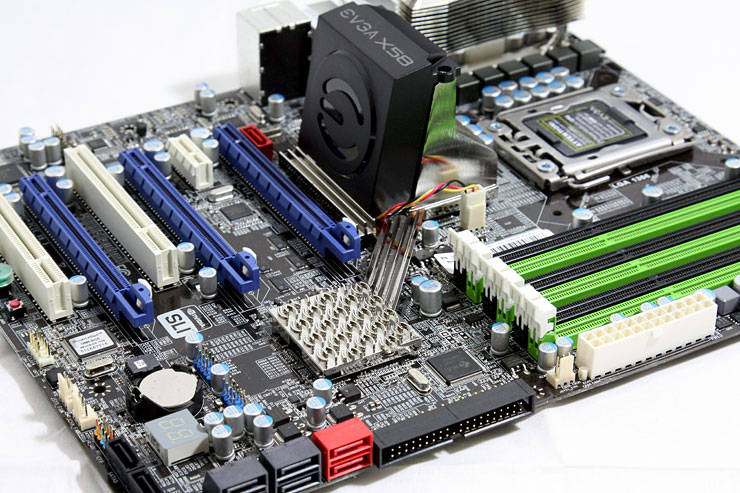 eVGA X58 motherboard review