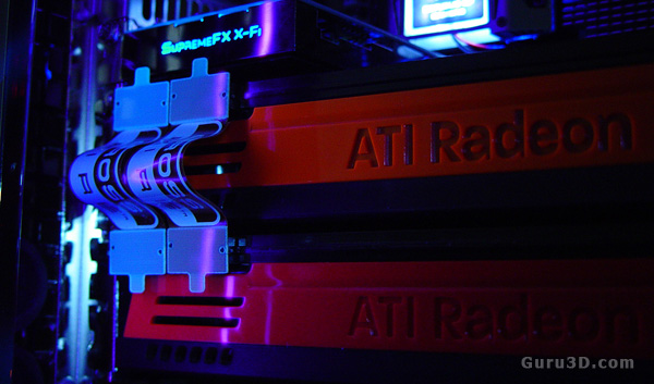 how do you hook up crossfire With the 3dfx drivers and software you could connect any 2 3dfx cards in sli as   can you hook up in crossfire two graphics cards but with different coolers (i.