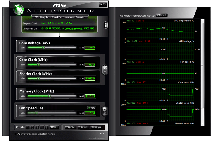 Msi afterburner обзор