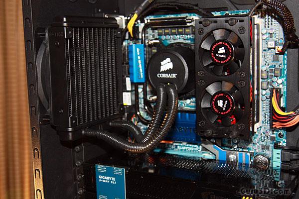 Corsair Demos H50 Liquid Cooling At Computex
