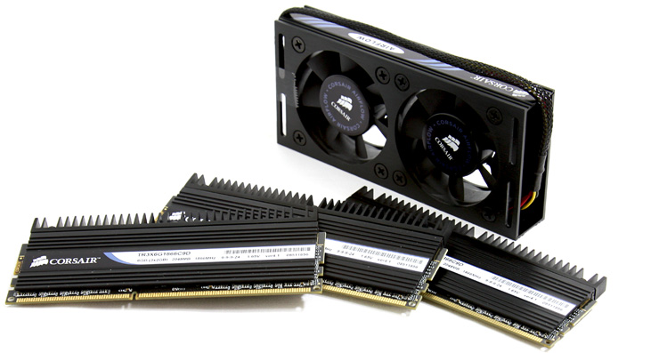 Corsair 1866 DDR3 Triple Channel memory
