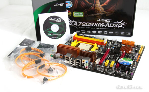 ECS A790GXM-AD3 (Socket AM3) DDR3 motherboard review - The