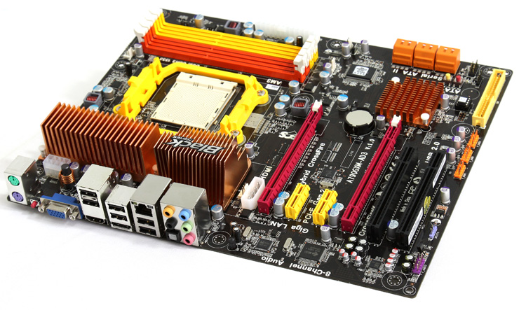 ECS motherboard review