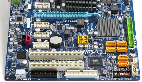 Gigabyte GA-MA770T-UD3P motherboard review - GA-MA770T-UD3P