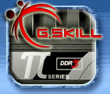 G.Skill PC3 16000 DDR3 DIMMs