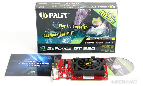Palit GeForce GT 220