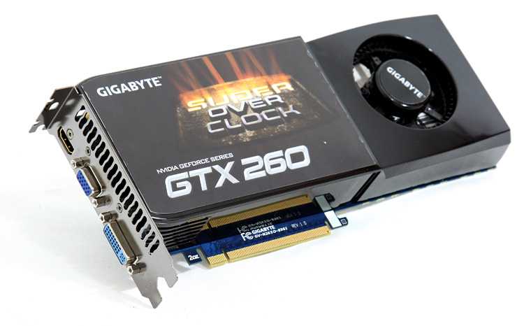 Gigabyte geForc GTX 260 SO
