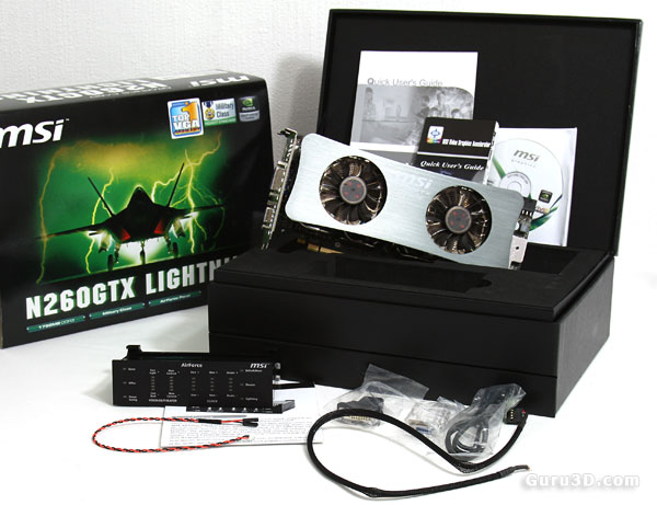 MSI N260 GTX Lightning Black edition