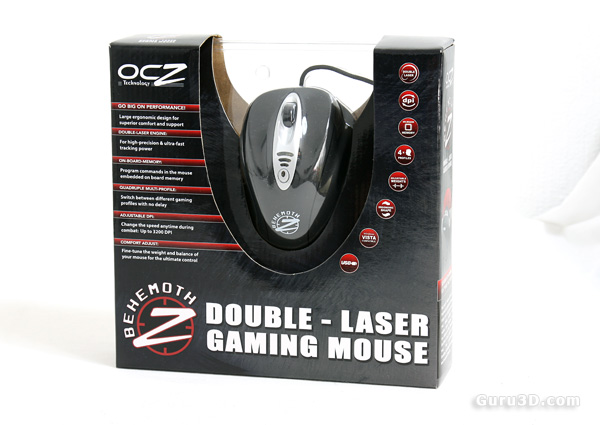 OCZ Behemoth Game Mouse