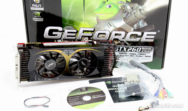 Palit GeForce GTX 260 SP216 Sonic edition