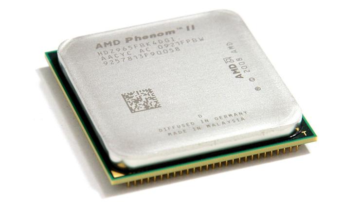 Phenom II X4 965 BE processor review test - AMD Phenom II architecture