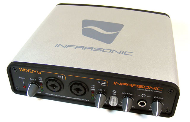 INFRASONIC WINDY6 FIREWIRE RECORDING DRIVER DOWNLOAD (2019)