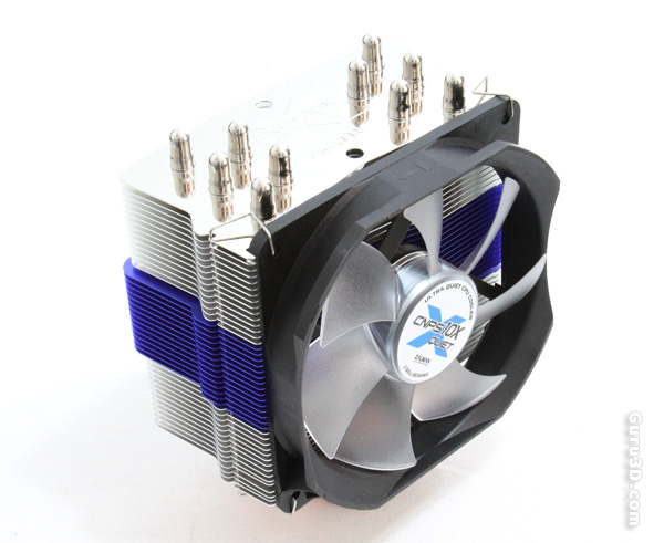 ZALMAN Computer Noise Prevention System with Low-Noise 120mm Blue LED Fan and Heatsink CPU Cooler CNPS10X Extreme