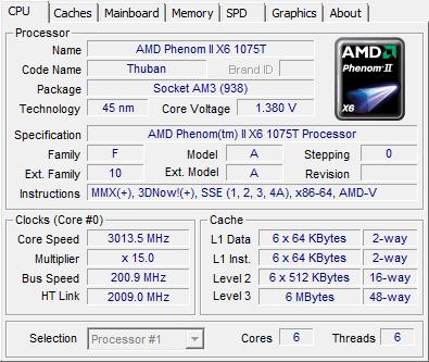 Amd Phenom Ii X6 1075t X4 970be And Athlon Ii X4 645 Processor