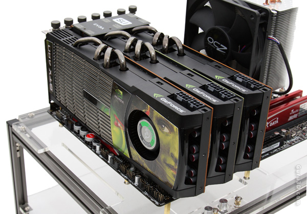GeForce GTX 480 3-way SLI review - Product Gallery