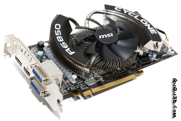 MSI R6850 Cyclone Power Edition