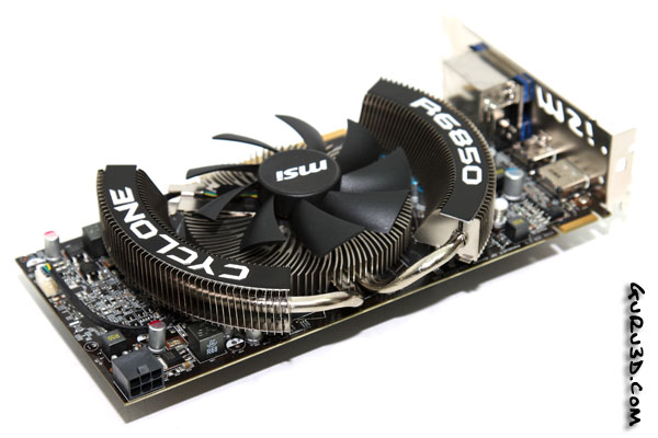 Msi Radeon 6850 Cyclone Power Review Setup Power Consumption
