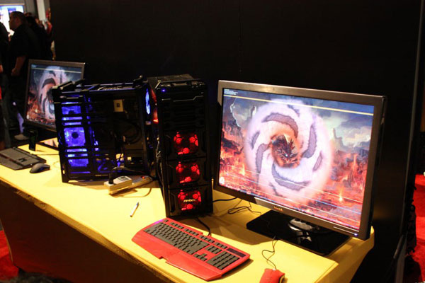 Antec was at Blizzcon at full force showing off primarily their new ...