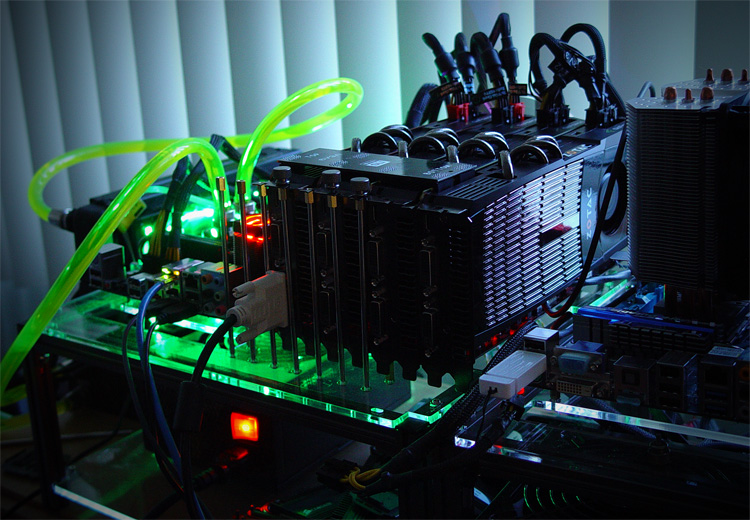 GeForce GTX 480 Quad SLI