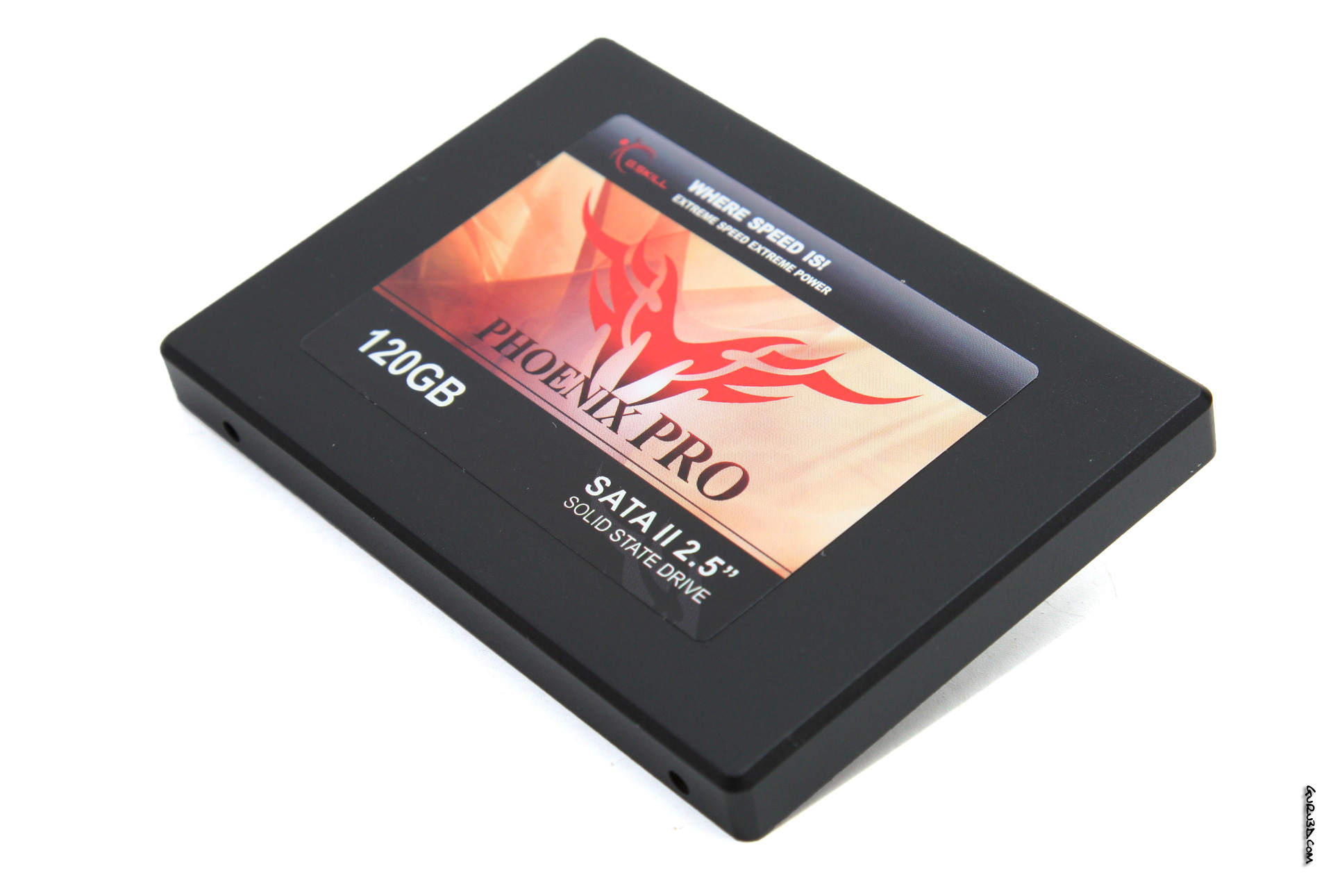 G Skill Phoenix PRO 120GB SSD review - Solid State Drives 101