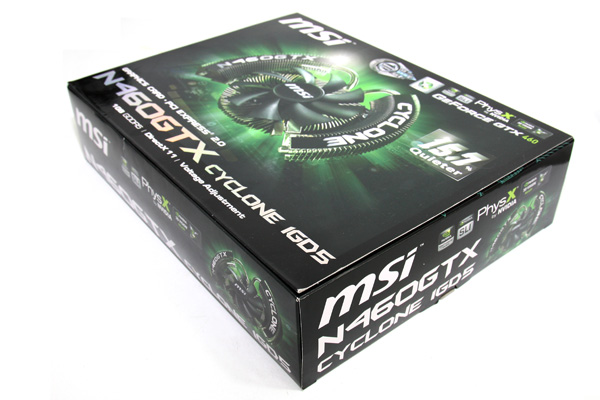 MSI GTX 460 1024MB Cyclone
