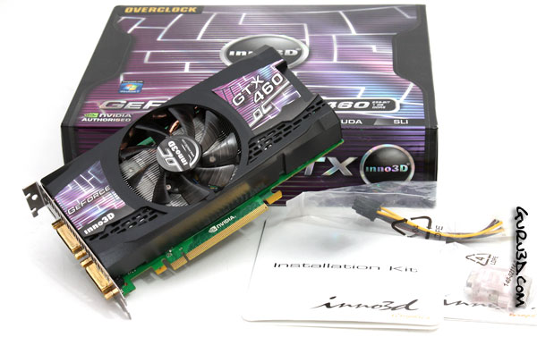 Inno3D GeForce GTX 460 1024MB OC
