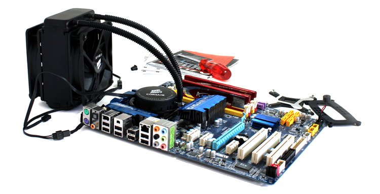 Corsair H70 Liquid cooling kit
