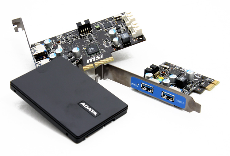 MSI Star USB 3.0 and SATA 6G controller