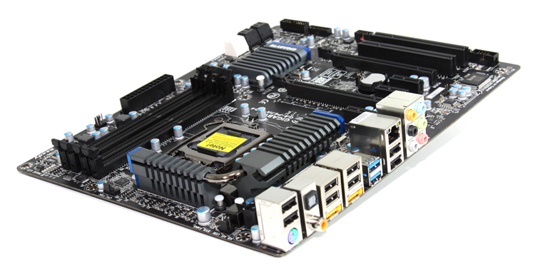 Gigabyte P67A-UD4 motherboard preview