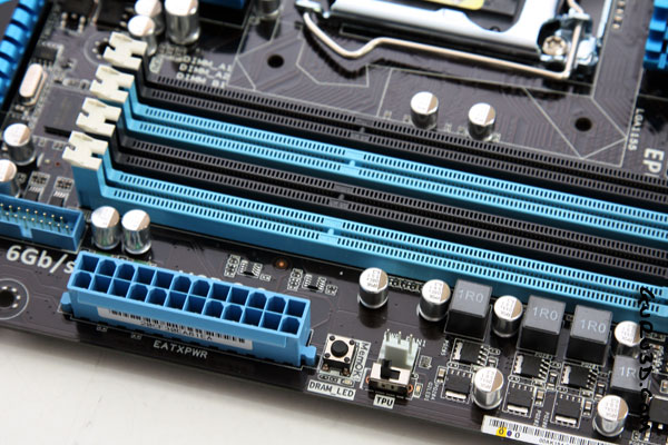 ASUS P8P67 Deluxe Sandy bridge mobo preview - 5