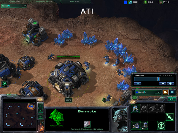 StarCraft II: Wings of Liberty GPU performance