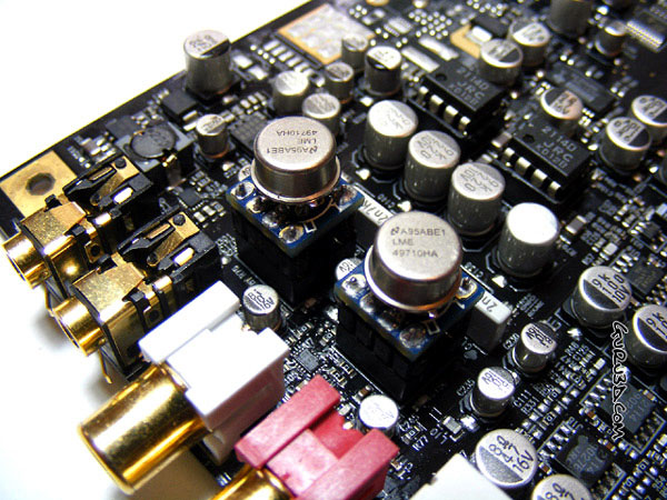 The LME49710HA modules we installed offer a similar signature to the DIP8 versions...