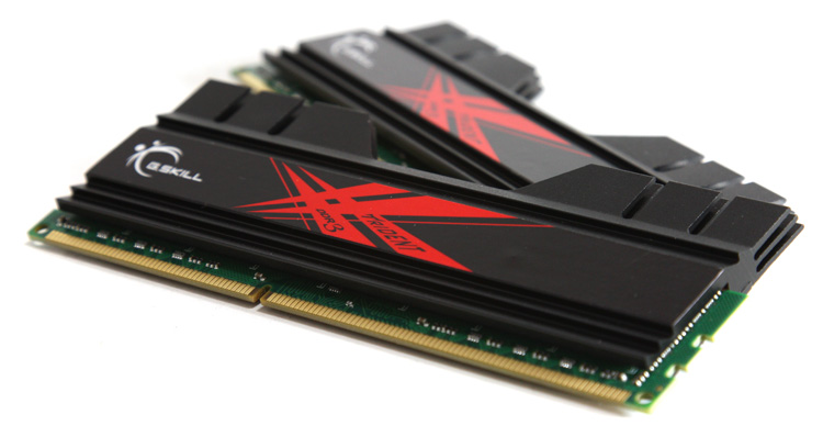 G.Skill 2x4GB Trident 1600 MHz CL7 DDR3 memory
