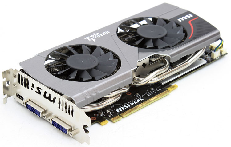 Msi geforce gtx 560 ti hawk review product gallery