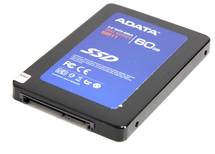 ADATA S511 series 60GB SSD review - Product showcase