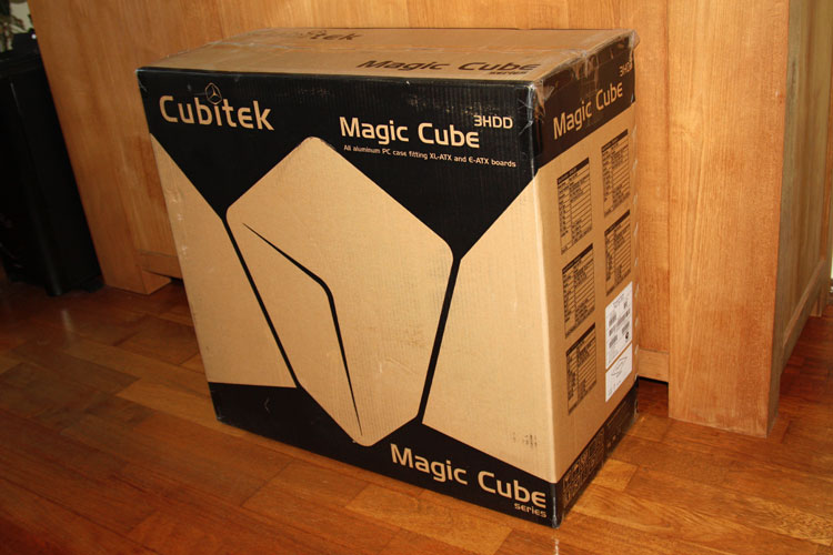 Cunitek Magic Cube 3HDD