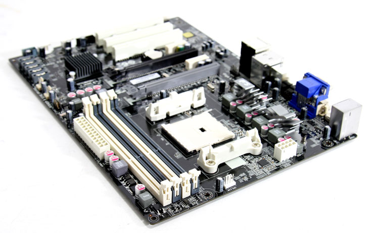 ECS A75F-A Motherboard review