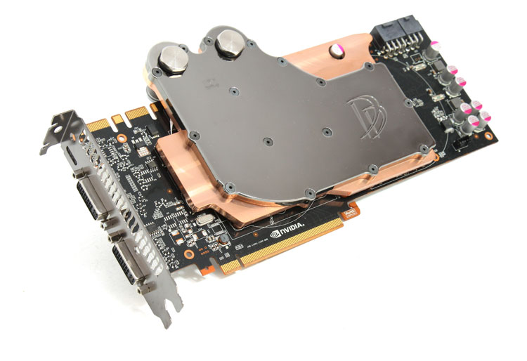 GeForce GTX 580 Liquid Cooling - Danger Den