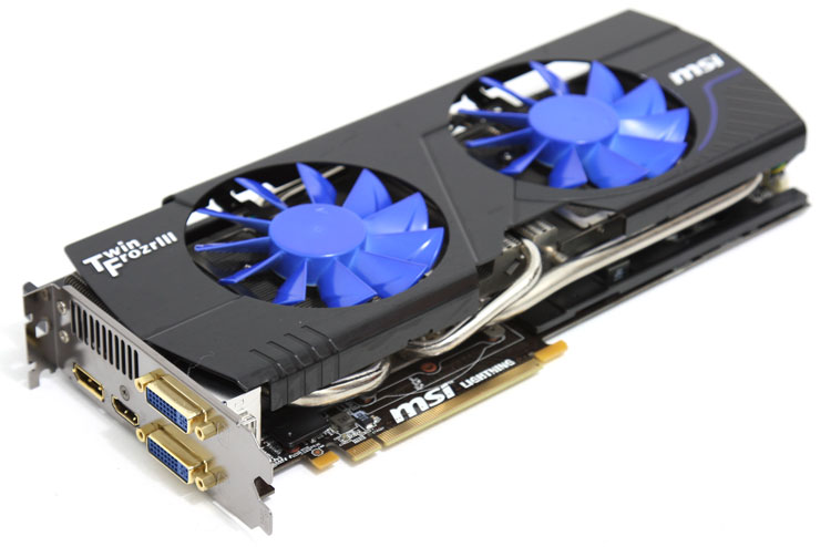 MSI GTX580 Lightning Xtreme edition