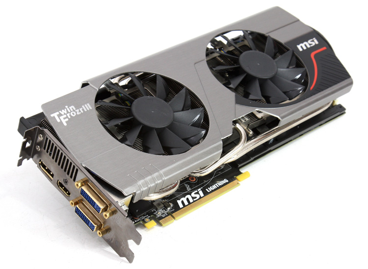 MSI GeForce GTX 580 Lightning