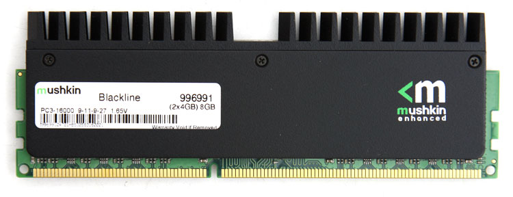 Mushkin 2000 MHz DDR3 8GB kit