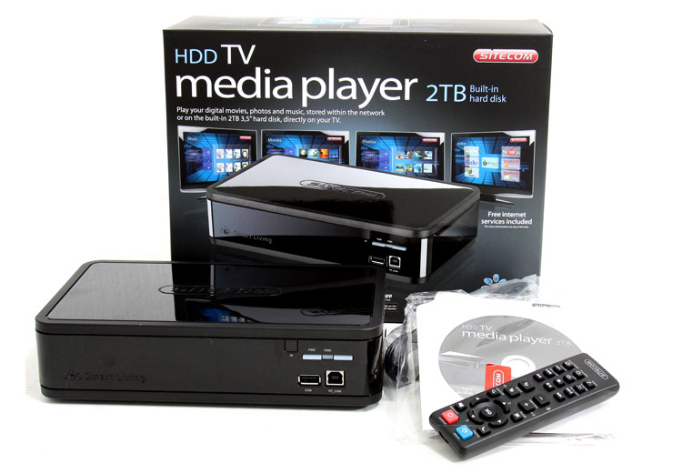 Sitecom Media Player 2TB MD-272 review - Introduction