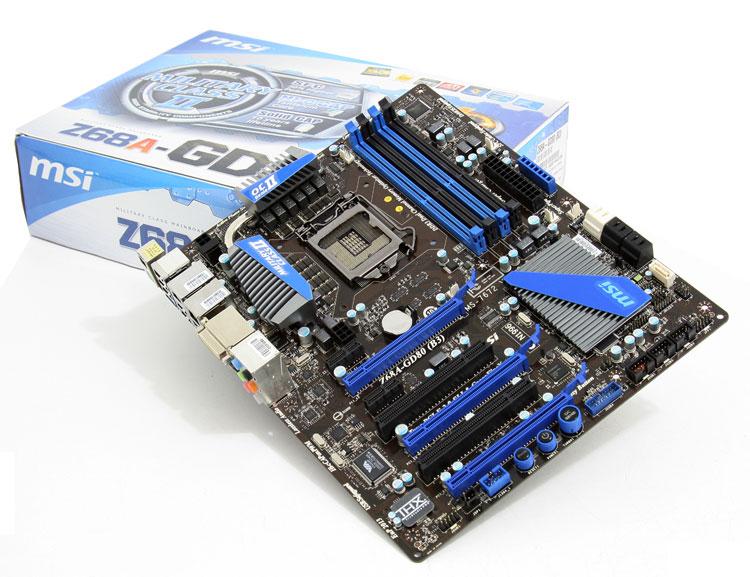 Drivers Update: MSI Z68A-GD80 (G3) THX TruStudio PRO